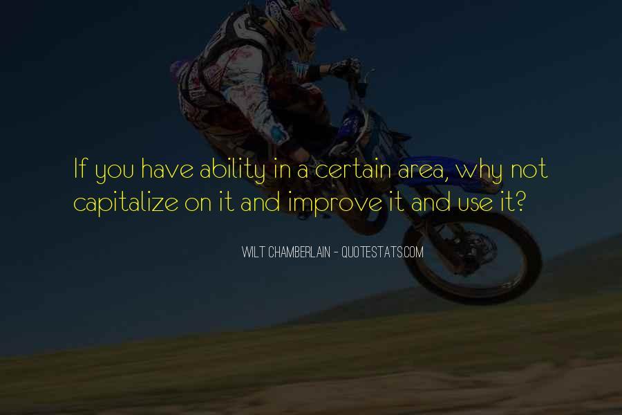 Wilt Chamberlain Quotes #442860