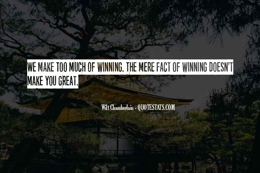 Wilt Chamberlain Quotes #468355