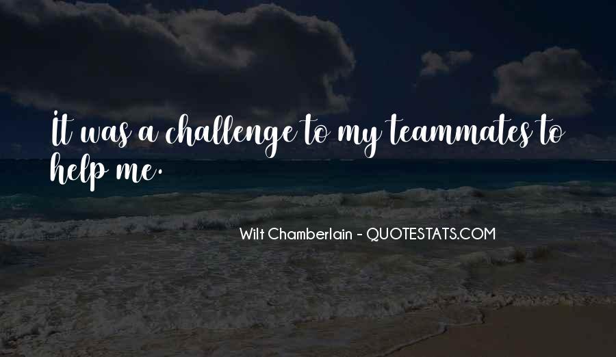 Wilt Chamberlain Quotes #637745