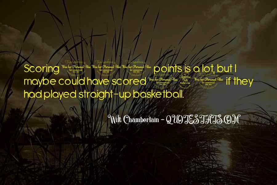 Wilt Chamberlain Quotes #745384