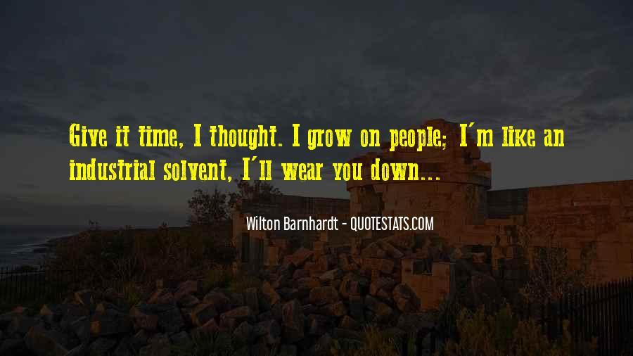 Wilton Barnhardt Quotes #1209369