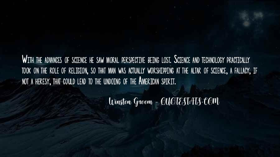 Winston Groom Quotes #1224480