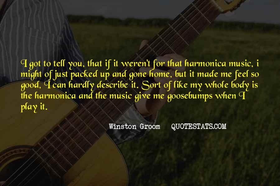 Winston Groom Quotes #143749