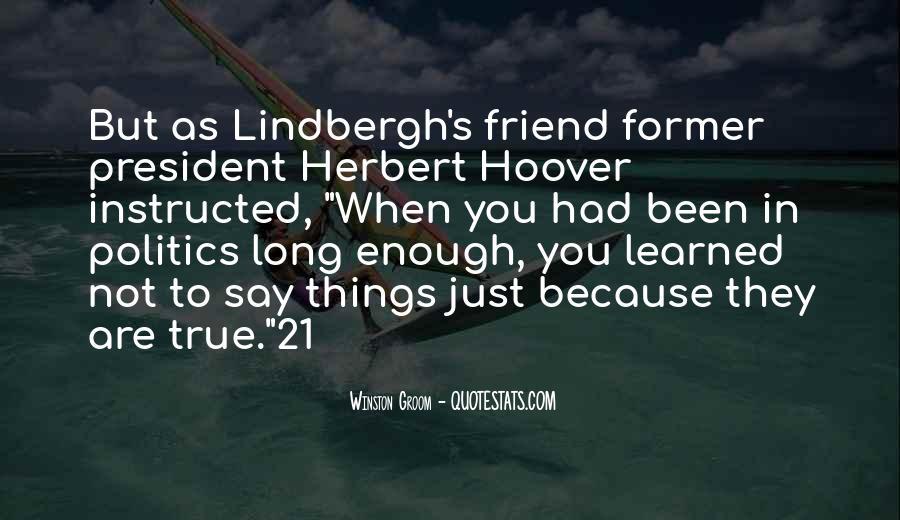 Winston Groom Quotes #1473964