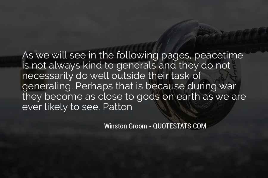 Winston Groom Quotes #1649732