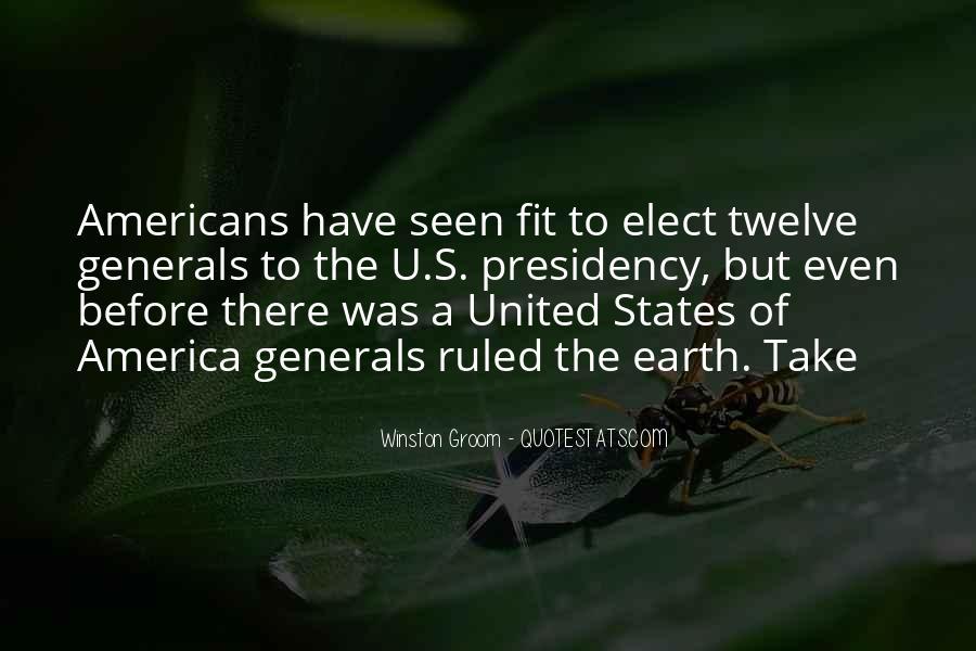 Winston Groom Quotes #1867280