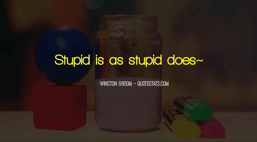Winston Groom Quotes #254641