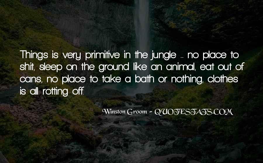 Winston Groom Quotes #32064