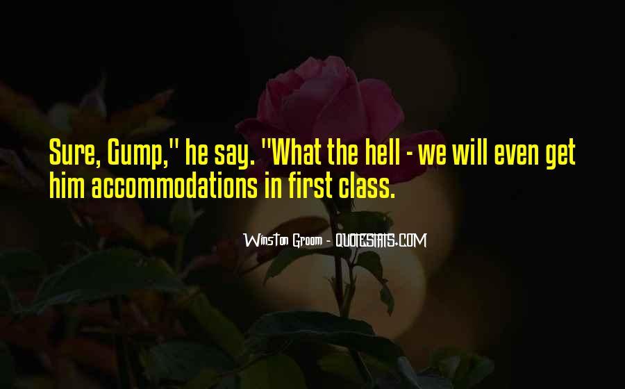 Winston Groom Quotes #731527