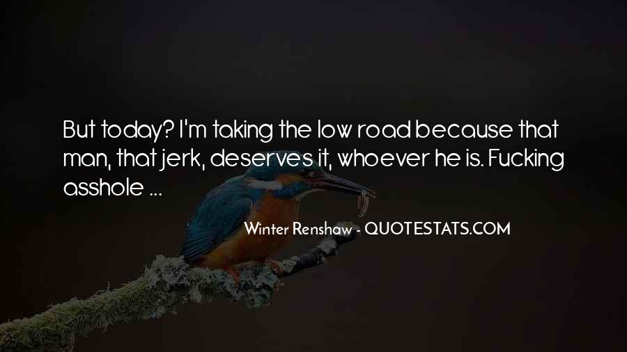 Winter Renshaw Quotes #1243262