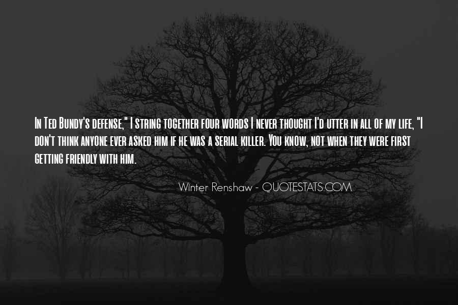 Winter Renshaw Quotes #138450