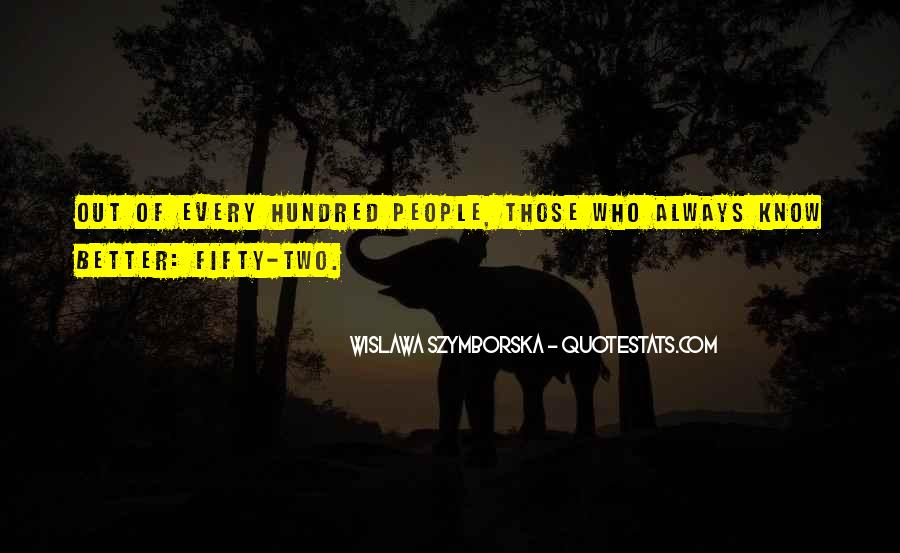 Wislawa Szymborska Quotes #1114659