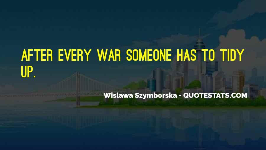 Wislawa Szymborska Quotes #1299075