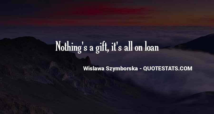 Wislawa Szymborska Quotes #1325130