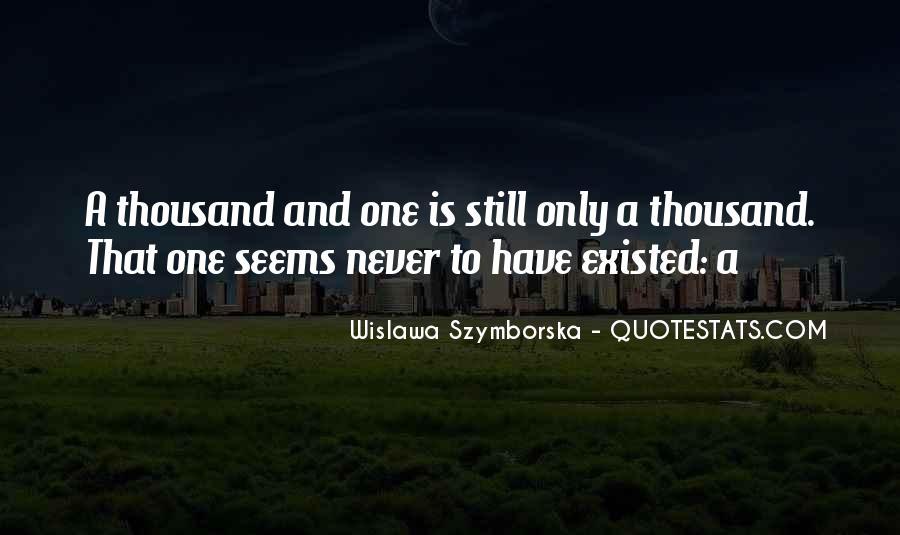 Wislawa Szymborska Quotes #1351632