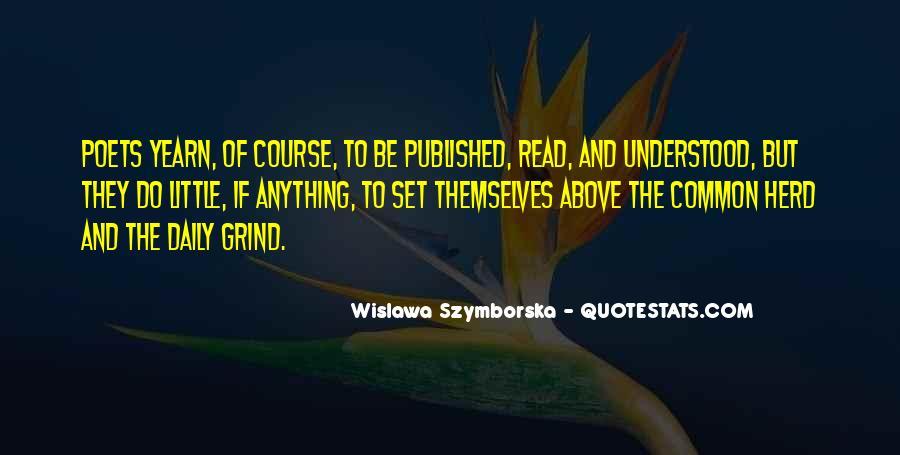 Wislawa Szymborska Quotes #1381135