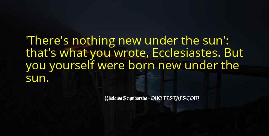 Wislawa Szymborska Quotes #141985