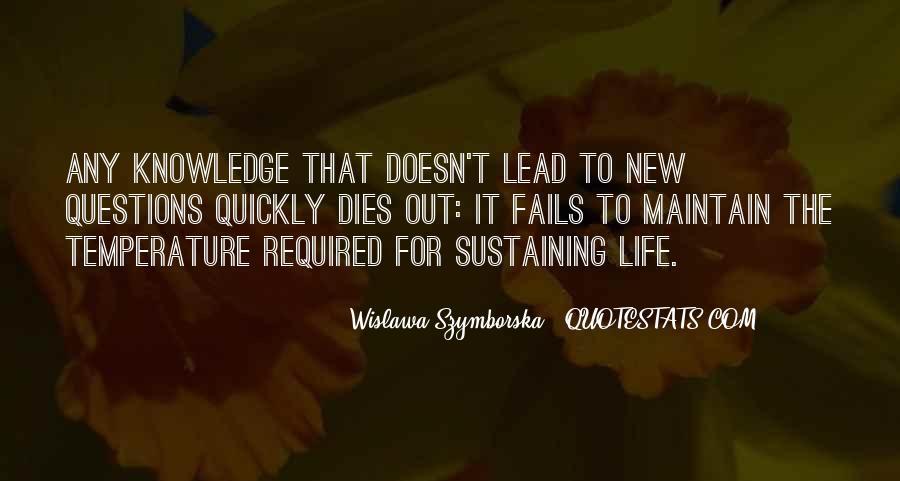Wislawa Szymborska Quotes #1486256