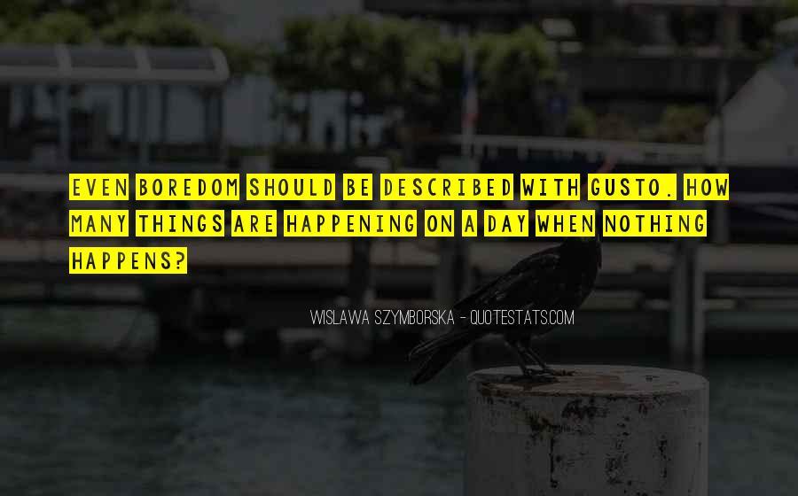 Wislawa Szymborska Quotes #1700877