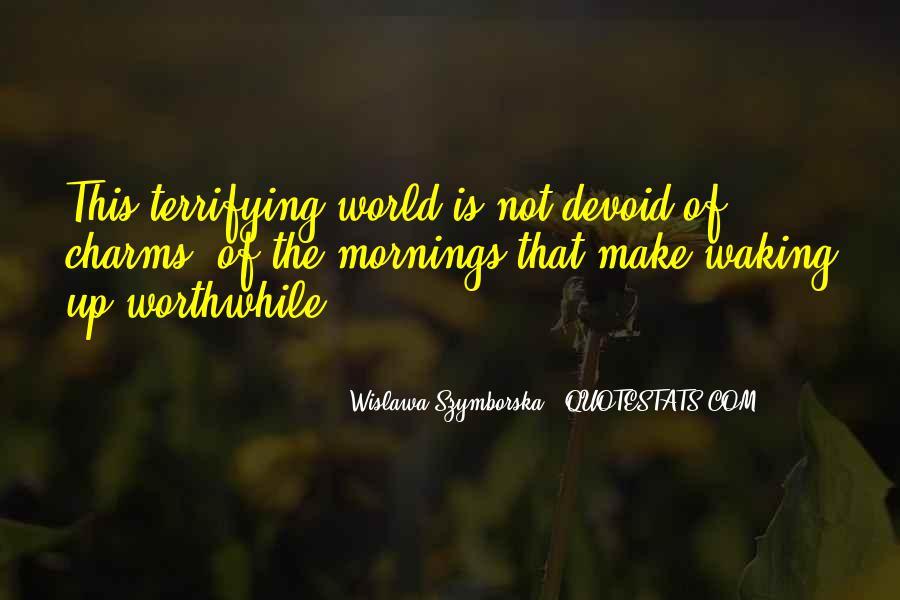 Wislawa Szymborska Quotes #408539