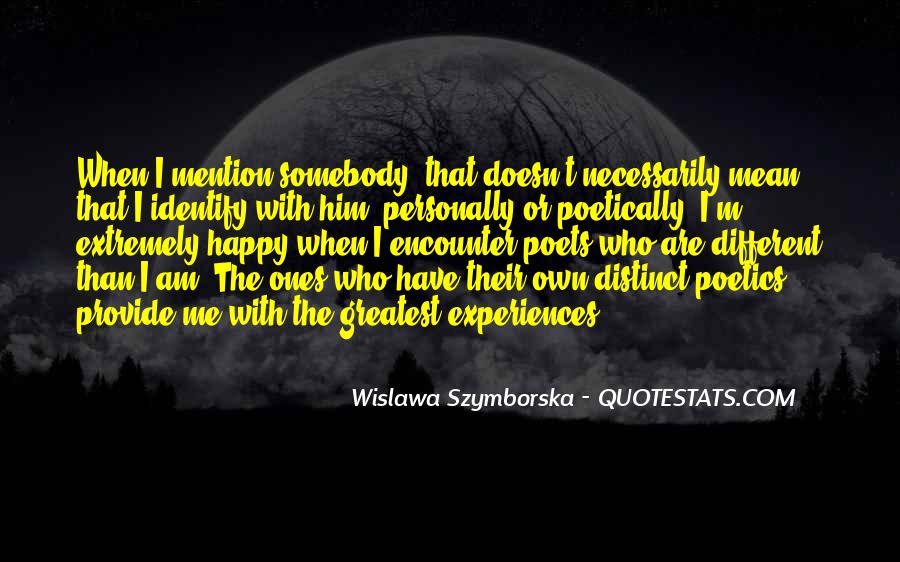 Wislawa Szymborska Quotes #794085