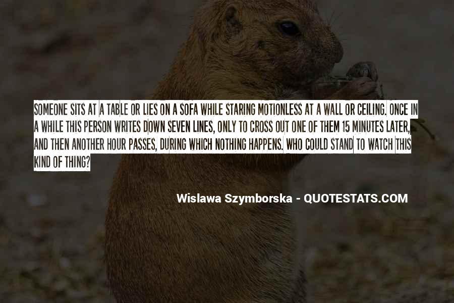 Wislawa Szymborska Quotes #795744