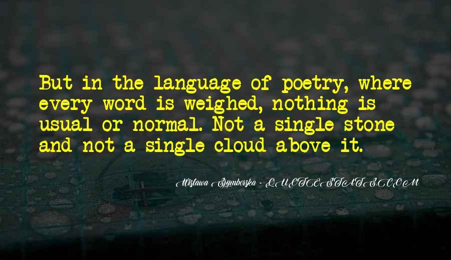 Wislawa Szymborska Quotes #88019