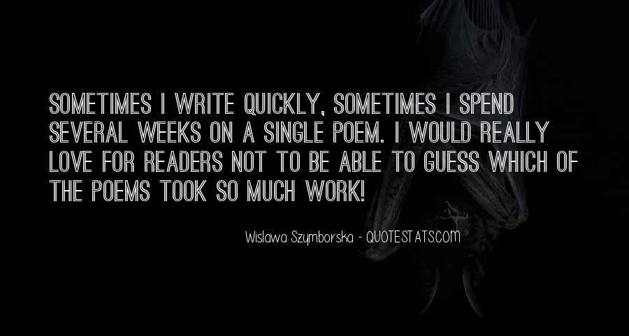 Wislawa Szymborska Quotes #993124