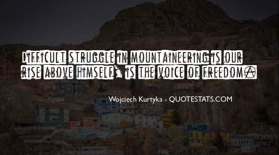 Wojciech Kurtyka Quotes #1061276