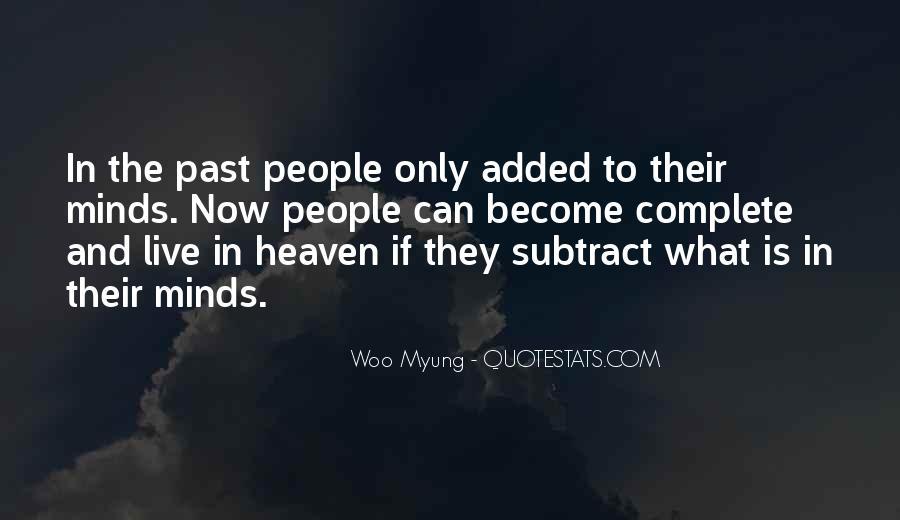 Woo Myung Quotes #1182070
