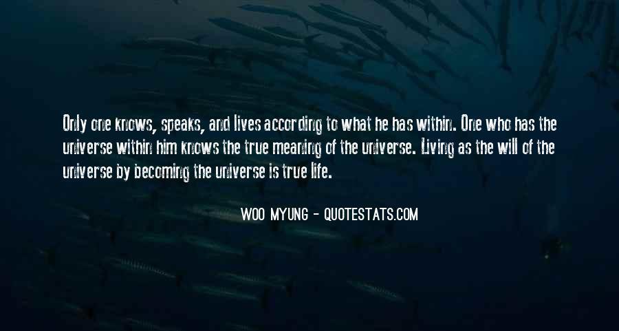 Woo Myung Quotes #1307984