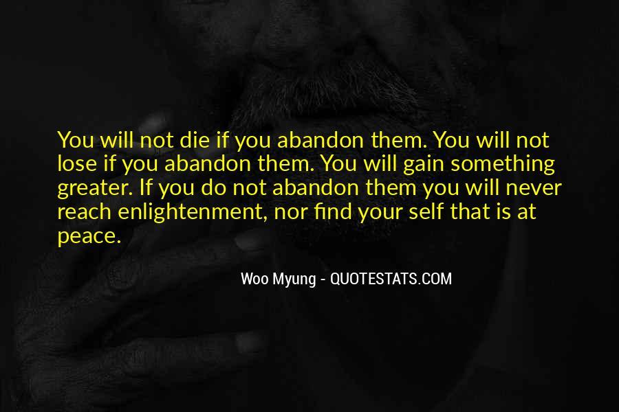 Woo Myung Quotes #249333