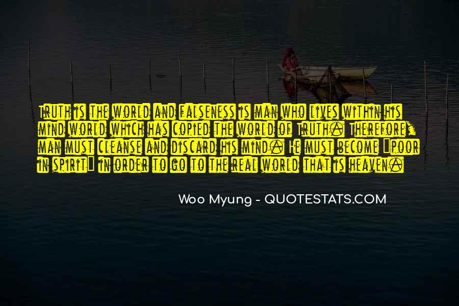 Woo Myung Quotes #566865