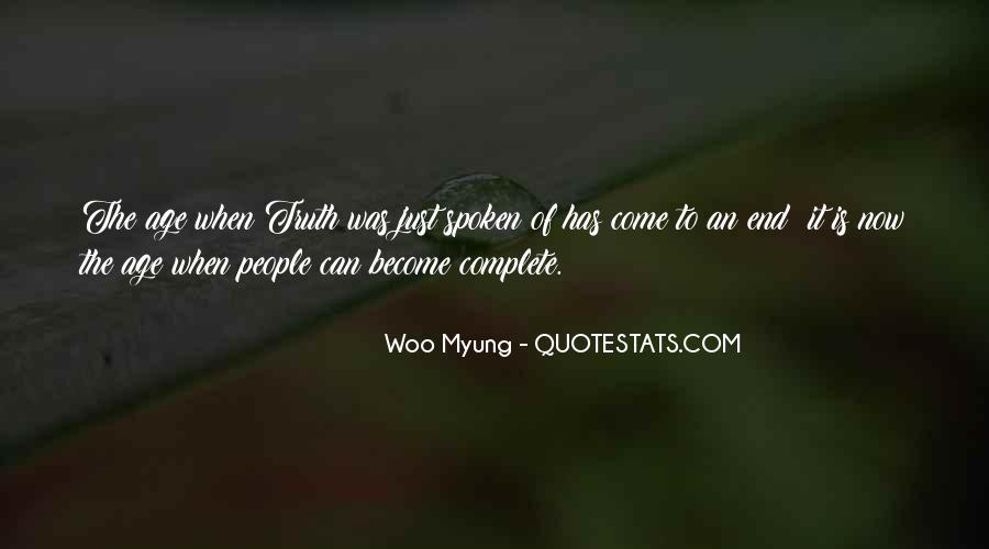 Woo Myung Quotes #70058