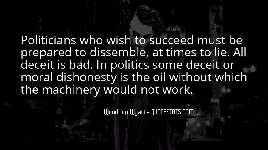 Woodrow Wyatt Quotes #1408088