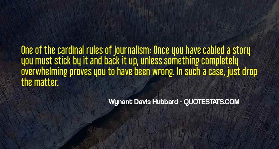 Wynant Davis Hubbard Quotes #1763937