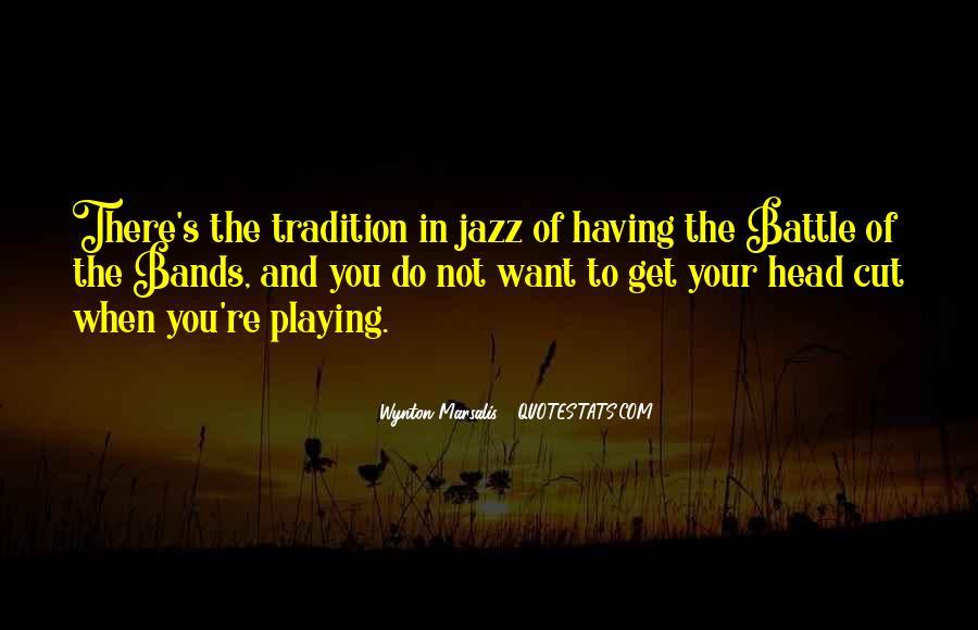 Wynton Marsalis Quotes #129230