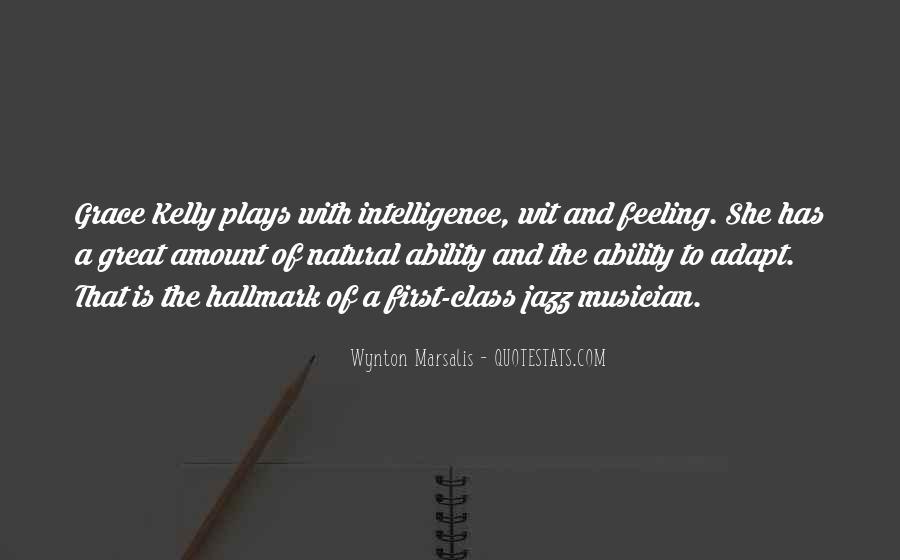 Wynton Marsalis Quotes #1389439