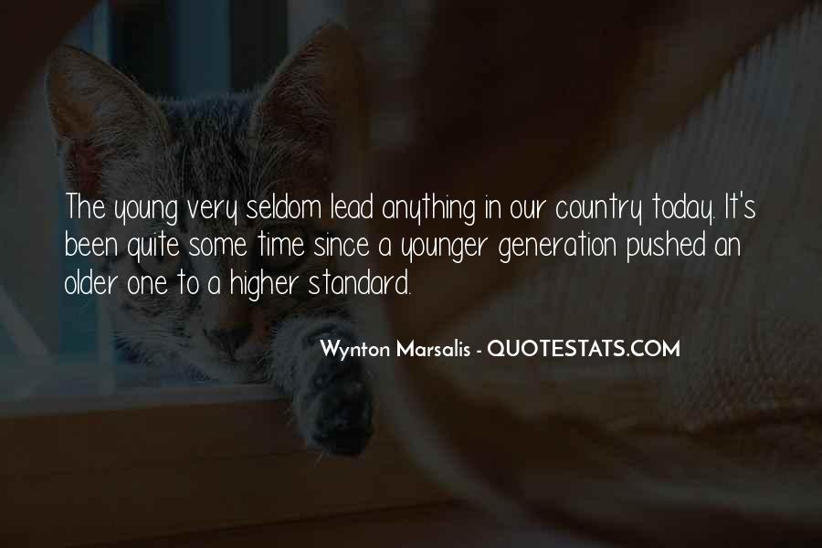 Wynton Marsalis Quotes #1423621