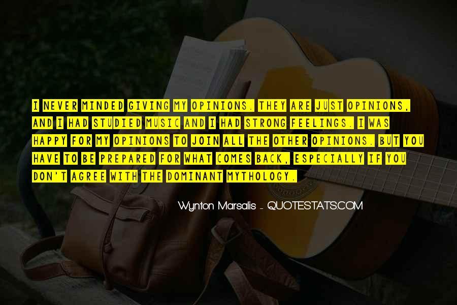 Wynton Marsalis Quotes #1564384