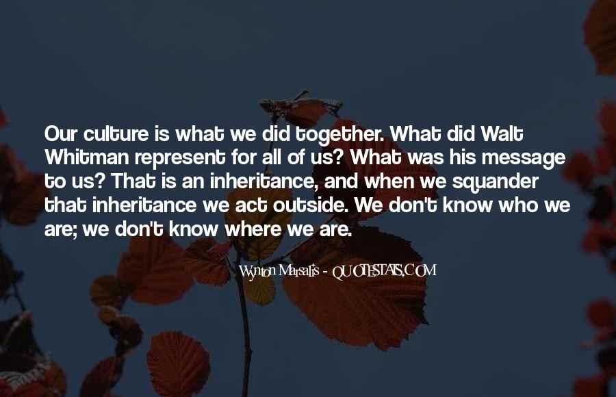 Wynton Marsalis Quotes #1568659