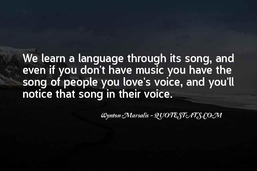 Wynton Marsalis Quotes #1635115