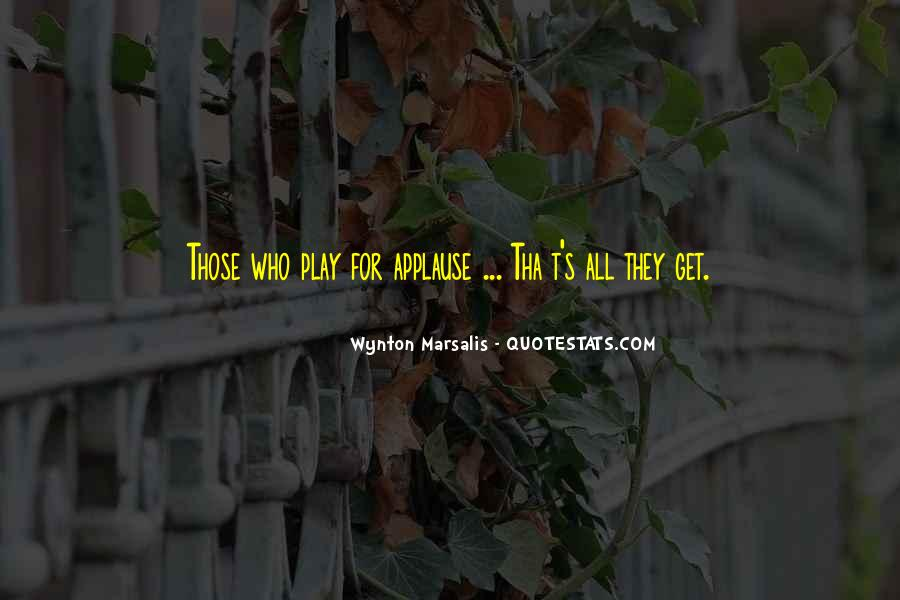 Wynton Marsalis Quotes #179122