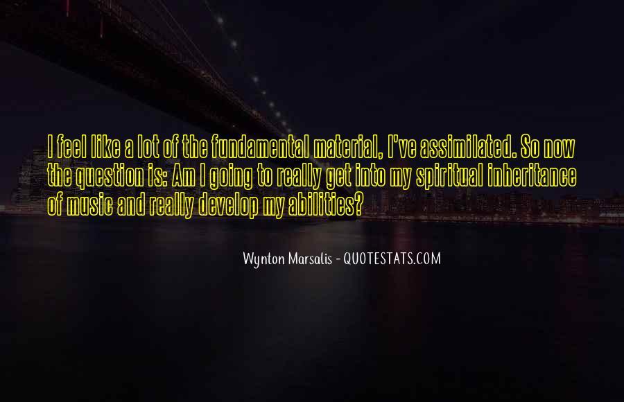 Wynton Marsalis Quotes #1871796