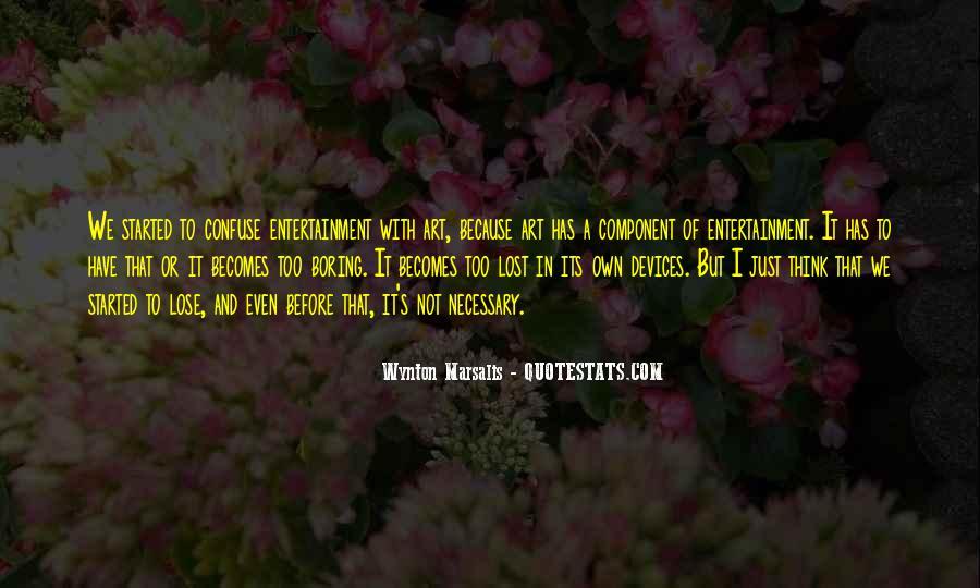Wynton Marsalis Quotes #215116
