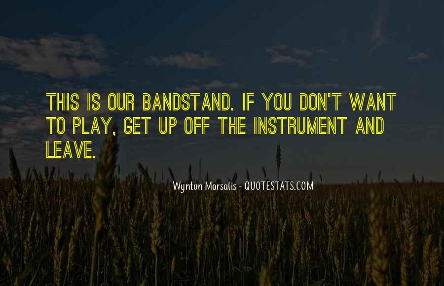 Wynton Marsalis Quotes #306776