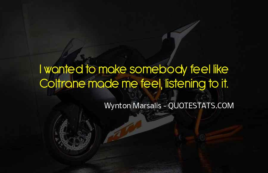Wynton Marsalis Quotes #311058
