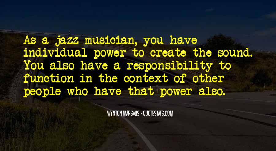 Wynton Marsalis Quotes #382640