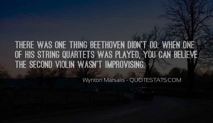 Wynton Marsalis Quotes #390469