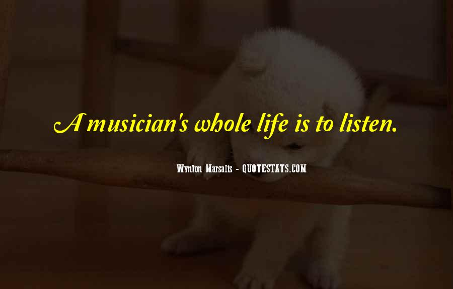 Wynton Marsalis Quotes #429500